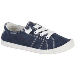 Jellypop Girls Lollie Blue Canvas Sneakers