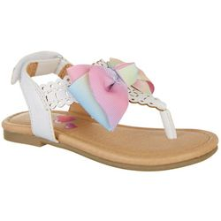 JOJO Toddler Girls Thong Bow Sandals
