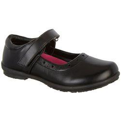 Petalia Girls Mary Jane Heart Shoes