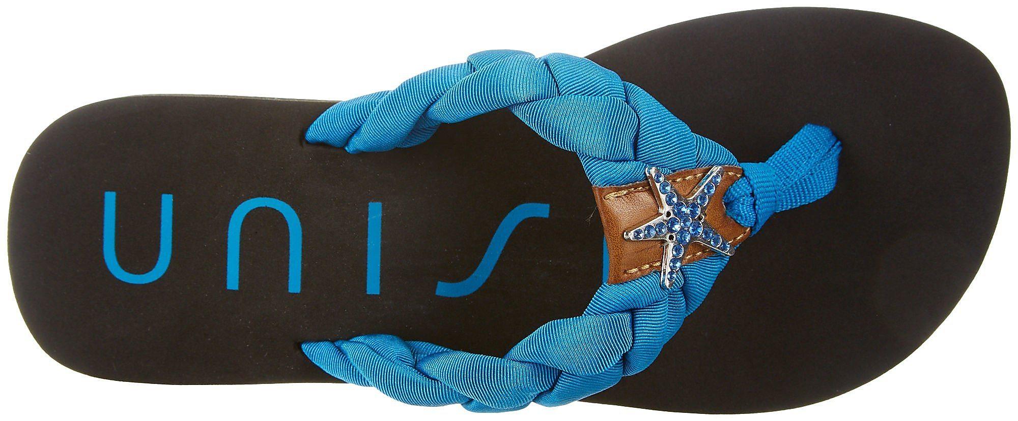387d9ebcef968 Details about Unisa Womens Faris Flip Flops