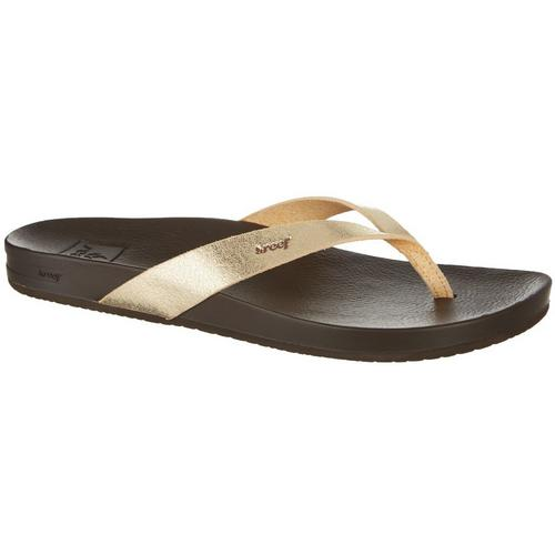 5657f8ac0088 REEF Womens Cushion Bounce Court Flip Flops
