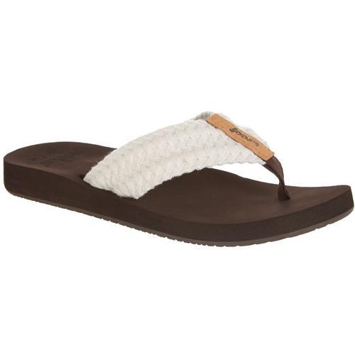 6b76c33d REEF Womens Cushion Thread Flip Flops | Bealls Florida