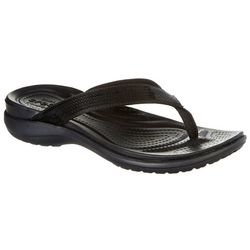 Crocs Womens Capri V Sequin Flip Flops