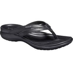 Crocs Womens Capri Strappy Flip Flop