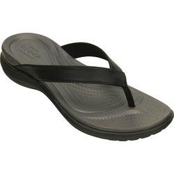 Crocs Womens Capri V Flip Flops