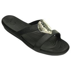 Crocs Womens Sanrah Hammered Disc Sandals
