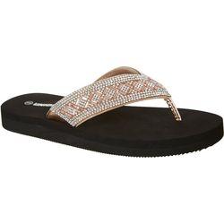 Unionbay Womens Fifi Flip Flops