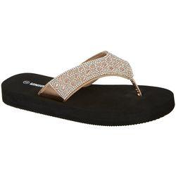 Unionbay Womens Trindade Flip Flops