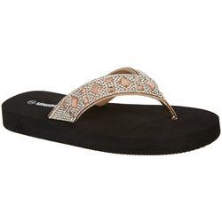 Unionbay Womens Cariana Flip Flops