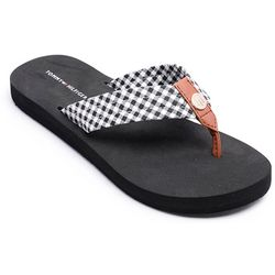 Tommy Hilfiger Womens Cambrie Flip Flops