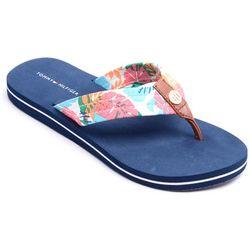 Tommy Hilfiger Womens Cinta Flip Flops