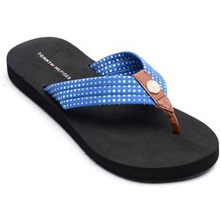 Tommy Hilfiger Womens Cyrus Flip Flops
