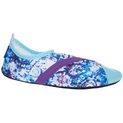 FitKicks Womens Cloudburst Print Shoes