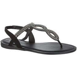 Capelli Womens Jem Casual Thong Sandals
