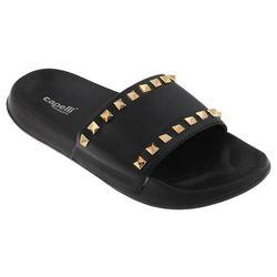 Capelli Womens Eva Studded Slide Sandals