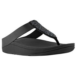Fitflop Womens Sparkle Thong Sandals