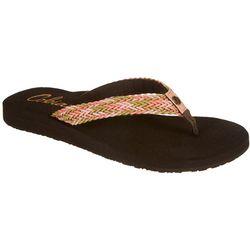 Cobian Womens Leucadia Braided Flip Flops