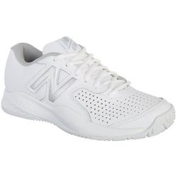 New Balance Womens 696 White Athletic Shoes
