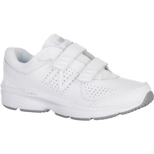 e194a7a72e64 New Balance Womens 411 White Athletic Shoes