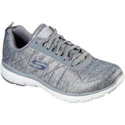 Skechers Womens Flex Appeal 3.0 Metal Task Shoes