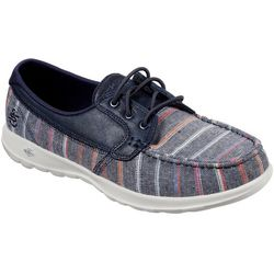 Skechers Womens GOwalk Lite Beachside Boat Shoes