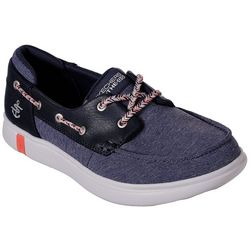 Skechers Womens On The Go Glide Ultra Playa Boat Shoes