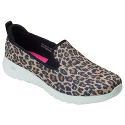 Skechers Womens Go Walk Fiery Shoes