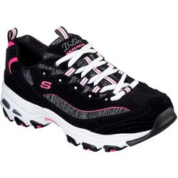 Skechers Womens D'Lites Me Time Athletic Shoes