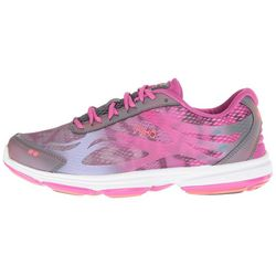 Ryka Womens Devotion Plus 2  Berry Pink Walking Shoes