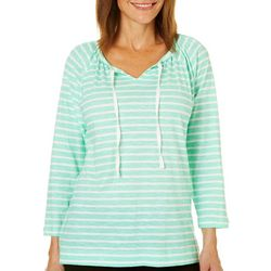 Caribbean Joe Womens Bermuda Triangle Top