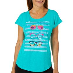 Caribbean Joe Womens Tropical Sunglasses Top