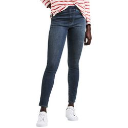 Levi's Womens Skinny Pull On Denim Jeans