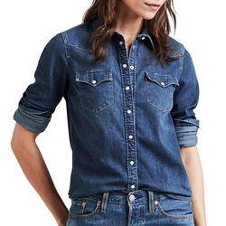 Levi's Womens Ultimate Western Denim Shirt