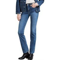 Levi's Womens 724 Skinny Leg High Rise Jeans