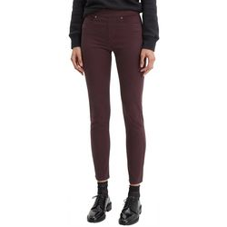 Levi's Womens Solid Pull-On Skinny Jeans