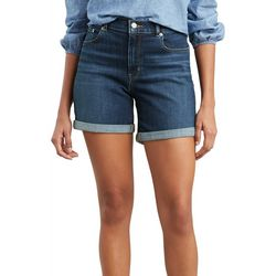 Levi's Womens Classic Denim Shorts