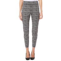 Nue Options Womens Grid Print Pull On Crop Pants