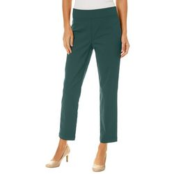 Nue Options Womens Munich Solid Stretch Pull On Pants