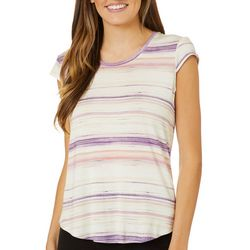 Nue Options Womens Day to Night Gradient Stripe