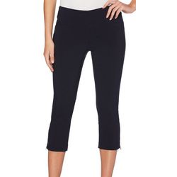 Rafaella Womens Supreme Stretch Pull On Ankle Pants