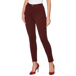 Rafaella Womens Solid Pull On Ponte Pants
