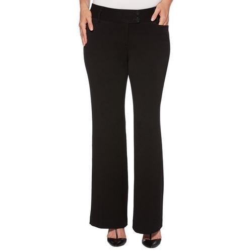 2e094ebe989416 Rafaella Womens Curvy Fit Solid Pants | Bealls Florida