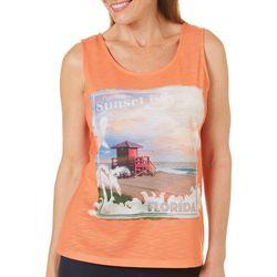 SunBay Womens Experience Sunset Key Florida Tank Top