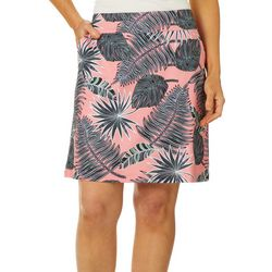 Coral Bay Energy Womens Tropical Palm Leaf Print