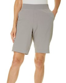 Coral Bay Energy Womens Pull On Solid Shorts