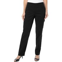 Coral Bay Womens Solid Millennium Pull On Pants