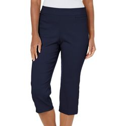 f75cf093c85 Coral Bay Womens Millennium Pull On Capris