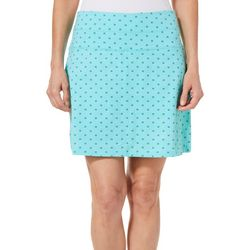 Coral Bay Energy Womens Dotted Geometric Skort