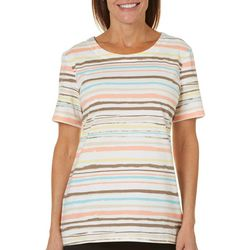 Coral Bay Womens Staycation Striped Top