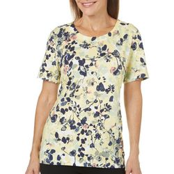 Coral Bay Womens Staycation Floral Garden Top